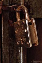 Locked (Doc AP) Tags: brown india sepia rust lock bangalore rusty karnataka locked shivajinagar sonica russellmarket 7levers