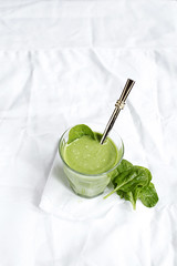 spinach, banana and peanut butter smoothie (what should i eat for breakfast today) Tags: morning green breakfast healthy drink banana delicious smoothie peanutbutter spinach goodfood