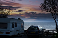 Let's get away from it all... (Sadloafer) Tags: morning blue sky cloud colour cup window coffee sunshine photography view map nopeople caravan campsite northwales sadloafer hansdavisphotography tyddyndutouringpark