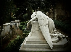 In memory of his beloved wife (Robert Barone) Tags: italy rome roma cemetery italian italia lazio angelofgrief everythingitalian epl1