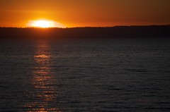Solitude (The Ambling Monk) Tags: sunset nikon solitude quiet peace bc peaceful surrey