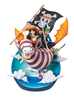 One Piece海賊王Desktop Real McCoy系列第三彈