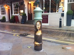 Mona Lisa Bollard in Winchester by heatheronhertravels, on Flickr