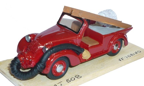 Liliput Fiat 508 VVFF Torino