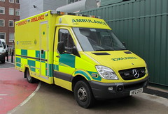 NIAS / HFZ 2531 / Mercedes Benz Sprinter / WAS Emergency Ambulances (Nick 999) Tags: new blue hospital lights was mercedes benz royal belfast victoria led vehicles leds paramedics emergency sirens ambulances sprinter nias 2531 hfz