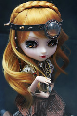 Era (Konato) Tags: eos gold eyes wig era pullip custom custo steampunk dashka konato