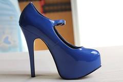 Teeze 07 blue (piloukam) Tags: blue girl lady fetish shoes highheels bleu heels spike bordello lany kék hautstalons teeze teeze06