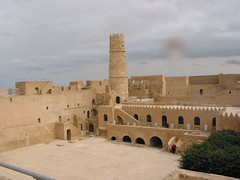 Court yard - ribat (melissaenderle) Tags: architecture ancient northafrica tunisia fortress monastir ribat