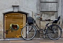 parking (mat56.) Tags: street bicycle composition denmark strada parking parcheggio bicicletta composizione copenaghen danimarca mat56