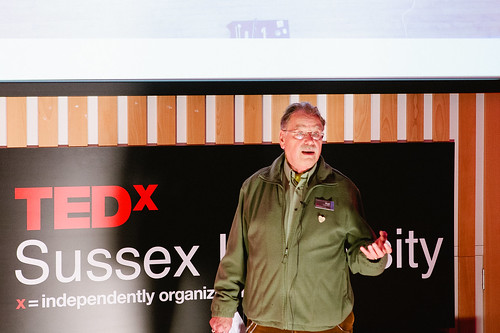 Vahakn Matossian & Rolf Gehlhaar speaking at TEDxSussexUniversity 2012