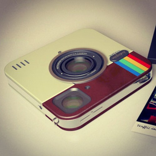 Instagram icon to become a real camera? by jnxyz, on Flickr