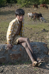 The Cowboy from Toranmal (Anoop Negi) Tags: boy portrait india station photography for photo cowboy media photos delhi indian hill bangalore creative young best po maharashtra mumbai anoop negi ezee123 toranmal jjournalism
