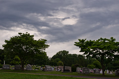 Cemetery Storm (Lea and Luna) Tags: trees cemetery clouds virginia nikon cloudy culpeper stormy graves va nikkor strom fairview d5100 culpepercountry 18mm55mmf35