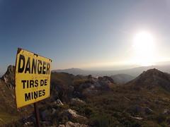 Danger Tirs de mines (shivapat) Tags: panorama sun saint soleil marseille go jour pro provence mont vue panneau contre colline cyr randonnee gopro carpiane