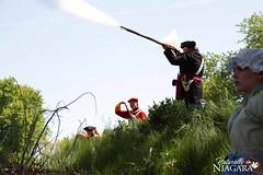 IMG_0154 (Naturally in Niagara) Tags: old war fort battle soldiers british erie reenactment bicentennial culloden 1812