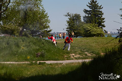 IMG_0159 (Naturally in Niagara) Tags: old war fort battle soldiers british erie reenactment bicentennial culloden 1812