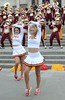 Img284825nx2 (veryamateurish) Tags: london trafalgarsquare cheerleaders band usc universityofsoutherncalifornia girl woman miniskirt