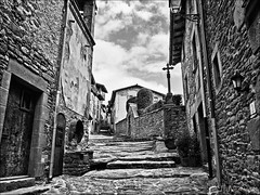 Rupit (FNP1948) Tags: bw girona bn rupit dmcl1 leicadvarioelmarit1450 bestcapturesaoi flickrstruereflection1 flickrstruereflection2 photographyforrecreationbwclassic