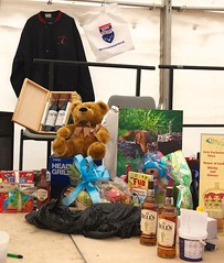 Some of the raffle prizes (Feis Alligin) Tags: 2012