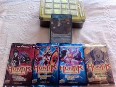 Huntik Holotome Tin (SilverxRain) Tags: cards trading tradingcards huntik holotometin secretsandseekers