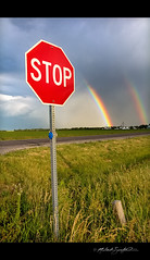06022012 STOP! Rainbow Time! (StormLoverSwin93   Into the Storm) Tags: storm weather canon landscape photography eos illinois rainbow central polarizer circular 60d