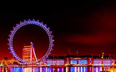 Night Photography of The London Eye (Cee Dhinjan) Tags: nightphotography london eye westminster londoneye theeyeoflondon picturesofthelondoneye