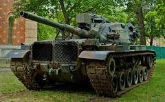 resting M60 (try...error) Tags: world vienna wien leica 3 canada museum army us war tank military wwii 8 rangefinder krieg m summicron m8 ww 35 rf panzer usarmy militär 235 kampf weltkrieg leitz uscar hgm preasph