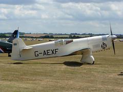 Percival P6 Mew Gull - 3 (NickJ 1972) Tags: gull aviation airshow duxford percival 2010 mew p6 iwm flyinglegends gaexf e2h