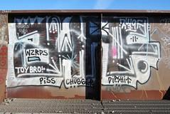 Zwaf (Pour Decisions) Tags: street urban streetart calgary art graffiti paint graf spray alberta graff aerosol gc 403 spraycan 1017 yyc carey bho dipshit mongrels surk zwaf wxrds mongrelclub