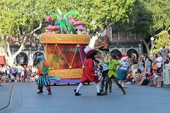 Mickey's Soundsational (Castles, Capes & Clones) Tags: california disneyland peterpan disney anaheim townsquare smee captainhook mainstreetusa mrsmee disneylandresort disneycharacters disneyfairies mickeyssoundsationalparade mickeyssoundsational