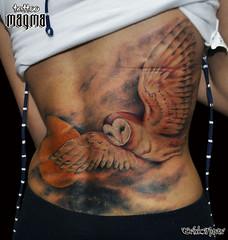 MAGMA TATTOO (MAGMA TATTOO) Tags: owl coruja tatuagem owltattoo corujatattoo magmatattoo