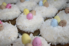 Easter Egg Cupcakes (irresistibledesserts) Tags: easter cupcakes egg nests