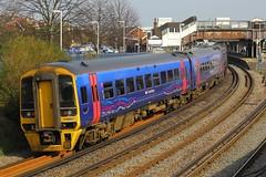 158951, Fratton, March 12th 2014 (Southsea_Matt) Tags: firstgreatwestern fratton class158 158951