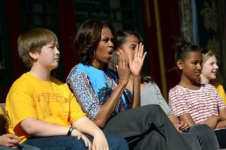 米歇尔·奥巴马北大演讲谈言论自由