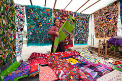 Fabric and Quilts_1815 (hkoons) Tags: city shopping mexico countryside town commerce country yucatan clothes business commercial sancristobal tropical shops cloth sales chiapas salesmen salesman sancristobaldelascasas vendors stateofchiapas