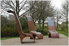 Chairs (7D009000) (Hetwie) Tags: artwork chairs kunstwerk stoelen helmond wijkpark brouwhuis
