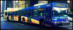 B8027 (Juan_M._Sanchez) Tags: public station loop 1999 transit articulated newflyer lowfloor d60lf translinkvancouvercmbcbus