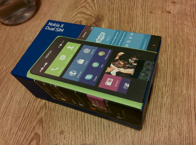 Nokia X Unbox