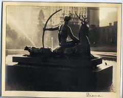 'Diana' - RAHS/Osborne Collection c. 1930s (Royal Australian Historical Society) Tags: statue sydney australia diana hydepark osborne rahs royalaustralianhistoricalsociety