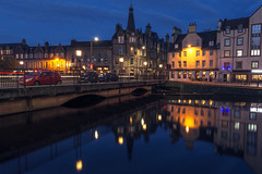 Leith Shore Twilight (Colin Myers Photography) Tags: water colin reflections photography lights scotland still twilight scottish calm shore leith serene myers leithshore coolreflections twilightreflections edinburghphotography colinmyersphotography edinburghwater leithtwilight leithreflections