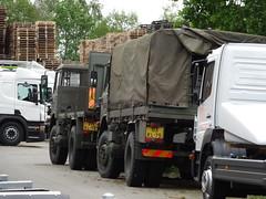 2 leger DAF's Apeldoorn (willemalink) Tags: 2 apeldoorn leger dafs