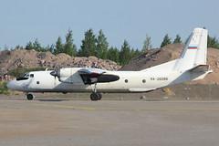 RA-26086 | Antonov An-26B | Pskovavia (cv880m) Tags: finland helsinki russia hel turboprop vantaa freighter antonov a26 an26 aircargo pskovavia ra26086