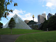 DEMOLISHED Pyramid glasshouse Royal Botanic Gardens
