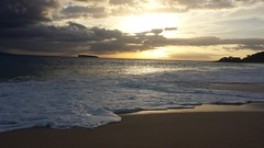 Big Beach (Kelli Gardner) Tags: ocean sunset vacation beach waves maui bigbeach