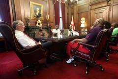 05-06-2016 Steve Harvey meets with Gov. Bentley