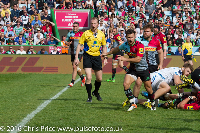 Quins 24 Exeter 62 7th May 2016