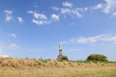 church, kerk, Oudendijk, Netherlands (C. Bien) Tags: holland church netherlands landscape nederland churchtower kerk landschap noordholland oudendijk kerktoren northholland