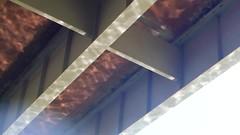 Reflections of water beneath bridge (EllenJo) Tags: arizona river pentax tube raft verderiver riparian sundayafternoon june5 clarkdale 2016 ellenjo summerinarizona ellenjoroberts tuzigootbridge tuzirap pentaxqs1 cruisingdowntheriveronasundayafternoon