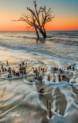 Morning Hue (Avisek Choudhury) Tags: seascape sunrise southcarolina gitzo edistoisland edistobeach nikond800 avisekchoudhury acratechballhead nikon1635mm avisekchoudhuryphotography