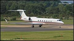 N282Q Gulfstream G550 c/n 5090 GF Management Co LLC (EGLF) 05/06/2016 (Ken Lipscombe <> Photography) Tags: cn management co llc gf gulfstream g550 eglf 5090 n282q farnboroughairporticaoeglfbizjetsaviationflyingtag 05062016